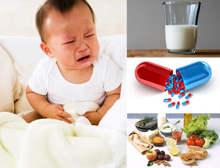 Có nhiều nguyên nhân khiến bé bị rối loạn tiêu hóa