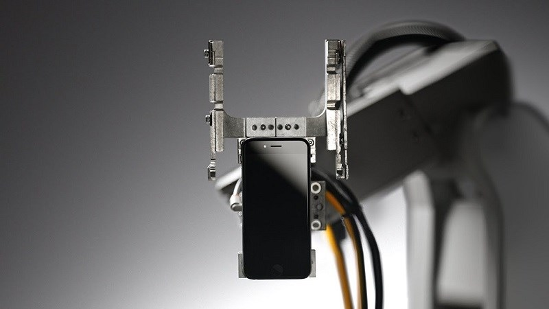 Hình ảnh robot Liam của Apple