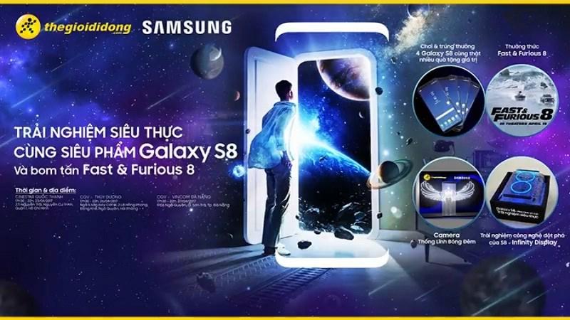 Mời tham gia offline trải nghiệm Galaxy S8 cùng bom tấn Fast & Furious 8 - ảnh 1