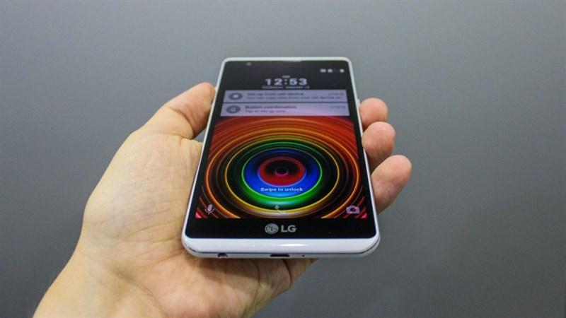 Smartphone pin trâu LG X Power giảm giá hấp dẫn