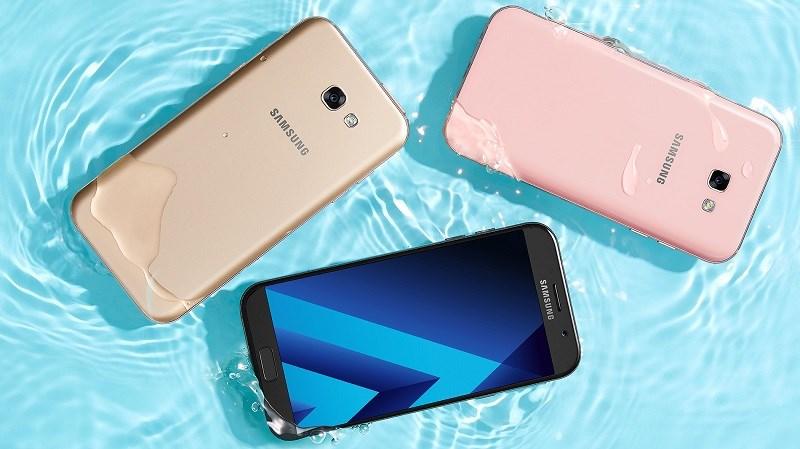 Galaxy A5, Galaxy A7 2017 giảm giá mạnh mẽ tại Thế giới di động