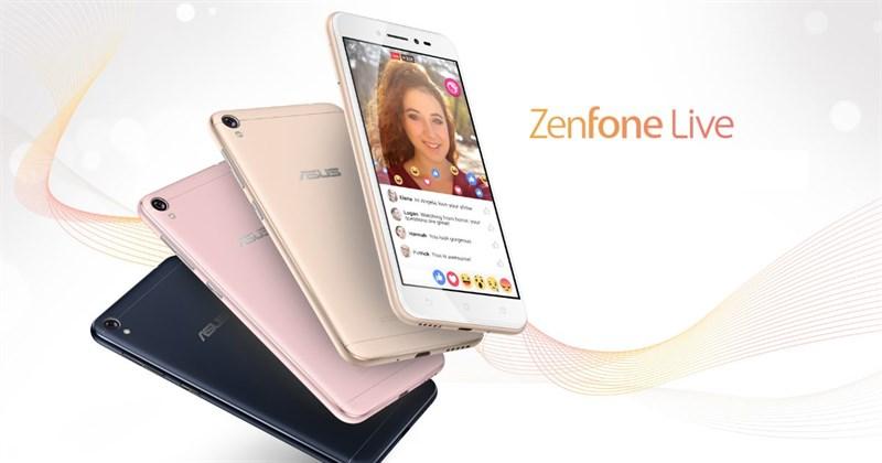 Asus Zenfone Live và Zenfone Zoom S sắp lên kệ thời gian tới