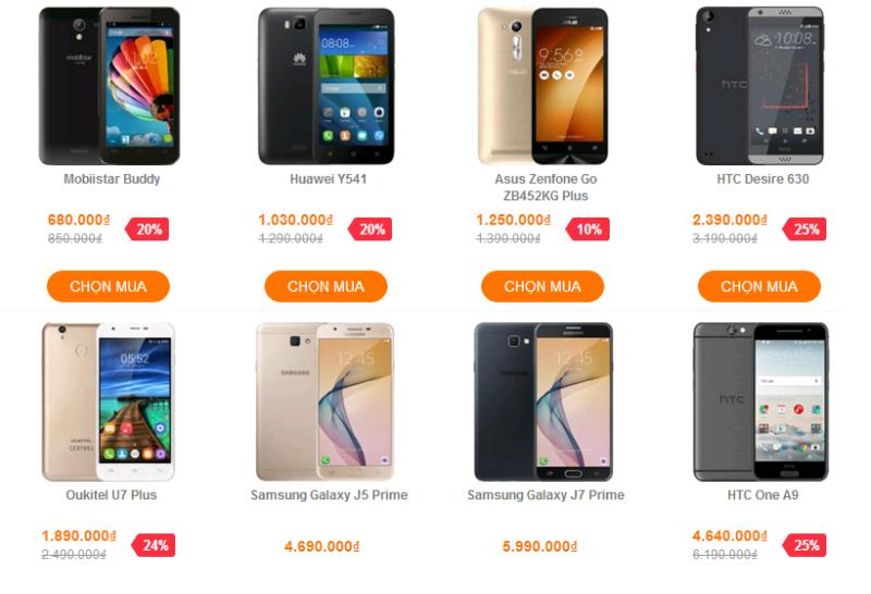 [HCM] HTC One A9, Blackberry Priv, J5 Prime đang giảm giá sốc và tặng kèm nhiều quà tặng hấp dẫn tại VuiVui.com