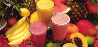 Bí quyết làm sinh tố trái cây ngon đúng điệu ngay tại nhà