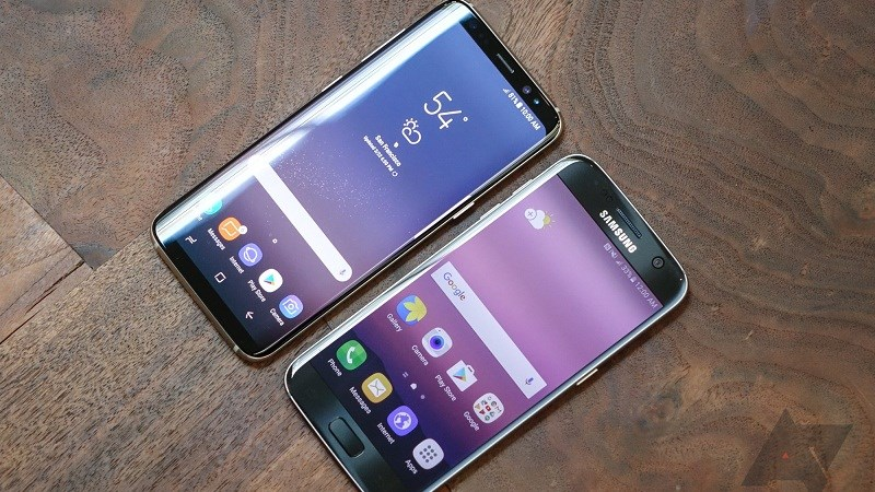 Galaxy S8 vs S7 Edge