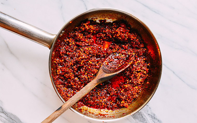 Cách làm ớt sa tế đơn giản tại nhà