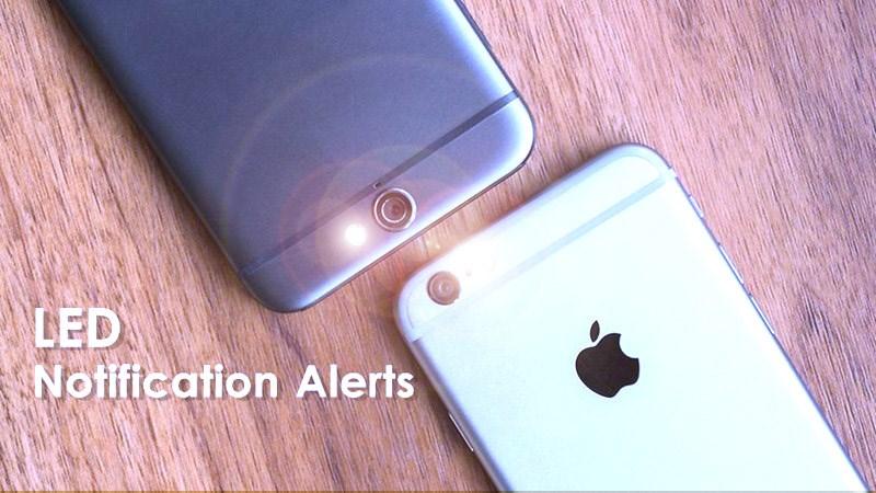 Cách nháy đèn flash khi nhận cuộc gọi, thông báo trên iOS và Android