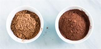 Phân biệt bột cacao nguyên chất và cacao pha