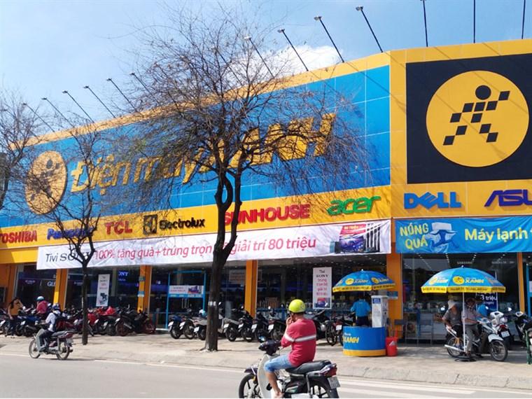 Siêu thị điện máy xanh tại 451 Lê Trọng Tấn, P.Sơn Kỳ, Q.Tân Phú, TP.HCM