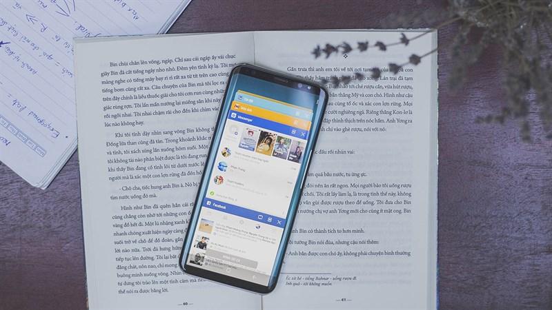 Giao diện Android trên điện thoại Samsung Galaxy S8 Plus