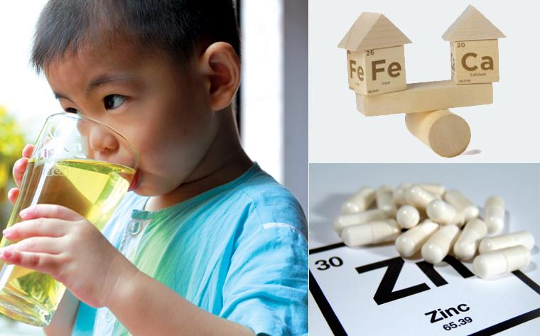 Uống trà làm giảm hấp thụ các dưỡng chất cần thiết ở trẻ nhỏ