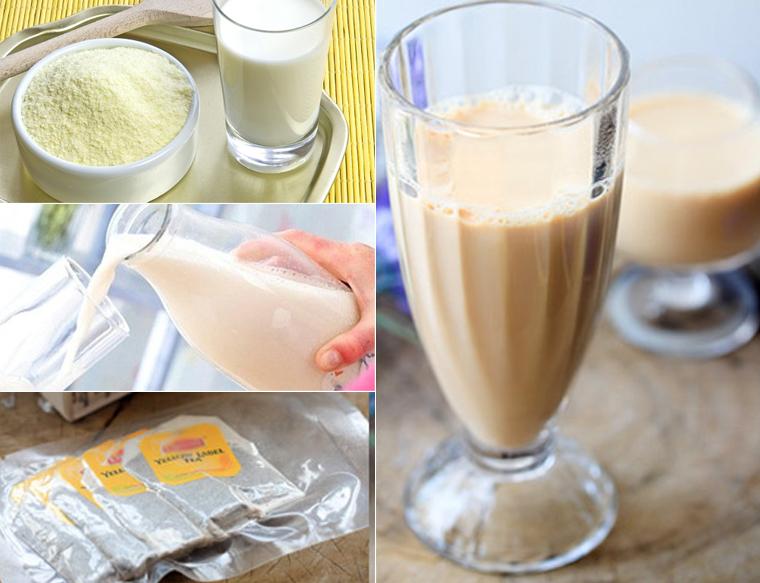 Pha trà vào sữa cho bé uống có thể làm giảm hấp thu dinh dưỡng