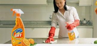 Vì sao nên chọn mua nước lau bếp để vệ sinh bếp?
