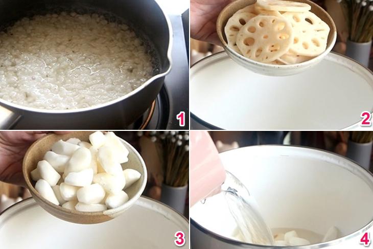 Cách nấu sâm bổ lượng giải nhiệt cực tốt cho mùa hè
