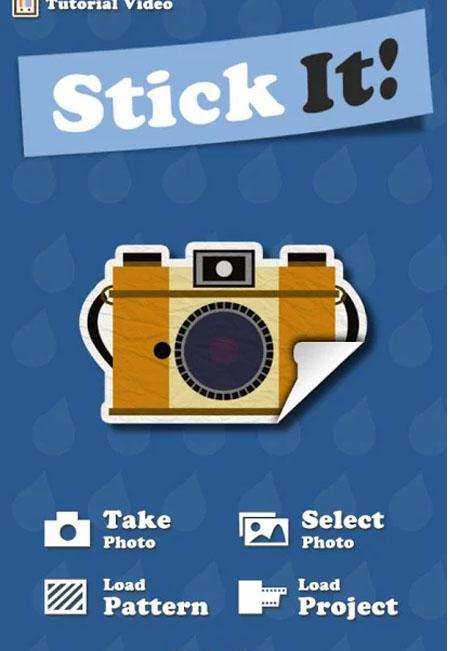 Phần mềm ghép ảnh Stickit