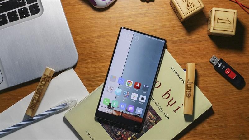 Xiaomi MiMix điện thoại không viền cực đẹp đang giảm giá cực sốc
