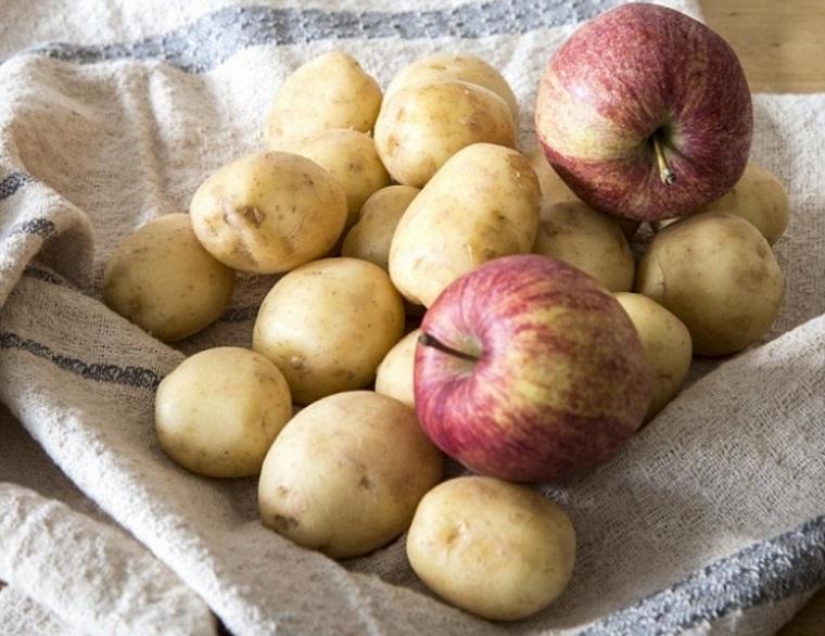 Khoai tây cần được bảo quản nơi khô ráo, thoáng mát