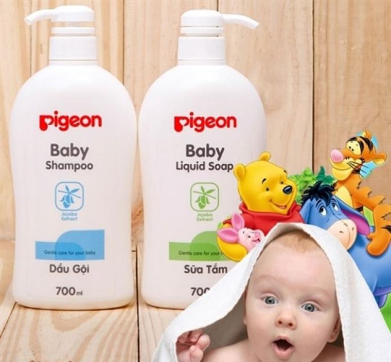 Cách chọn dầu gội cho bé