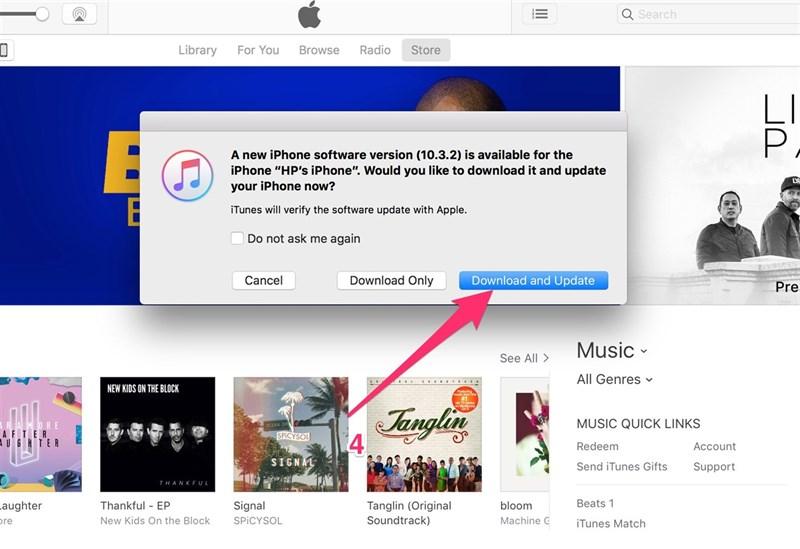 Cách cập nhật iOS 10.3.3 chính thức, chạy mượt hơn, pin trâu hơn