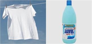 Cách tẩy quần áo trắng bị ố vàng