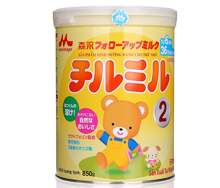 Những loại sữa bột tốt cho hệ tiêu hoá của trẻ