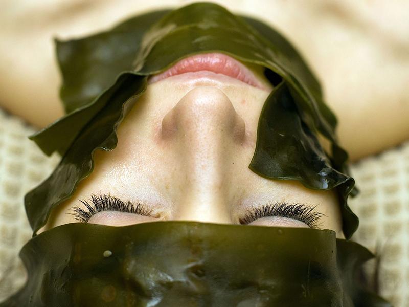 Mách bạn cách làm mặt nạ rong biển
