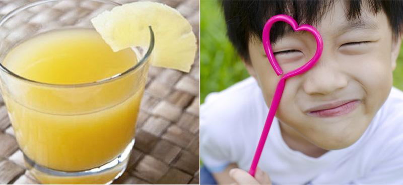 Bưởi giàu vitamin A và dưỡng chất tốt cho đôi mắt bé