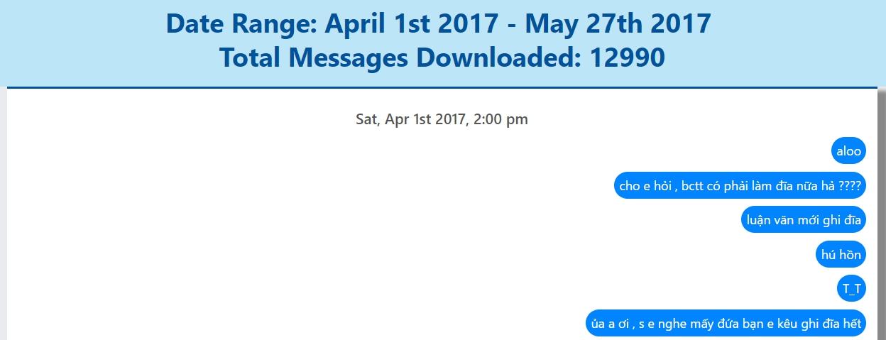 Cách tìm lại tin nhắn Facebook