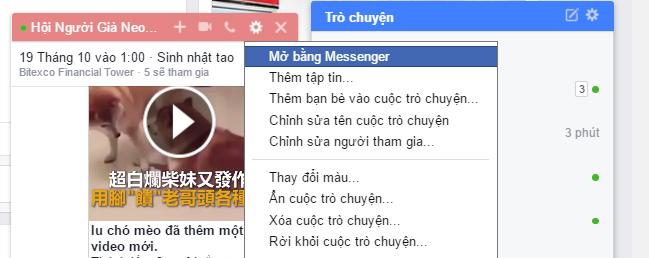 Cách tìm lại tin nhắn Facebook - truy cập vào Facebook