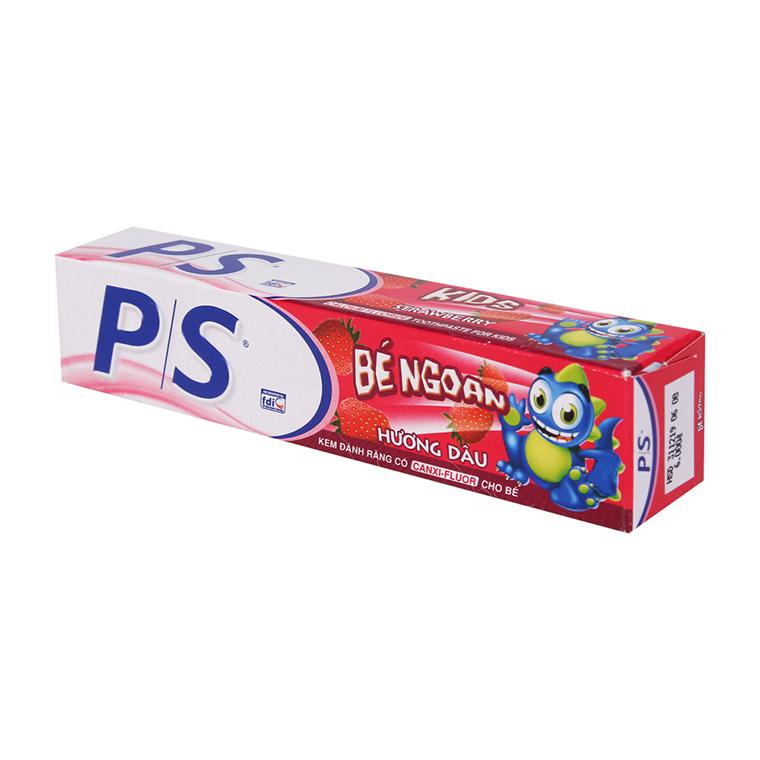Loại kem đánh răng trẻ em nuốt được