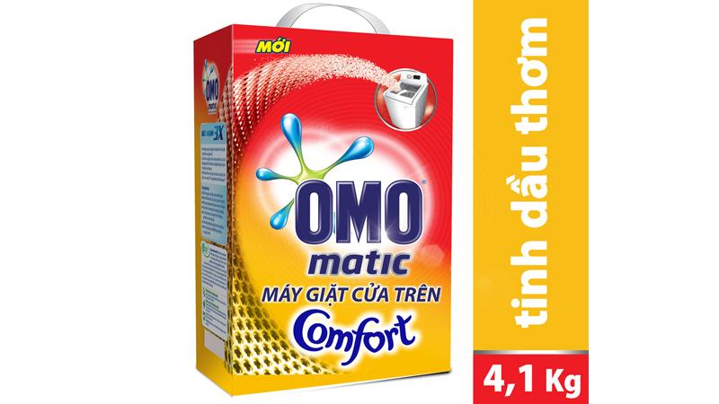 Bột giặt Omo matic