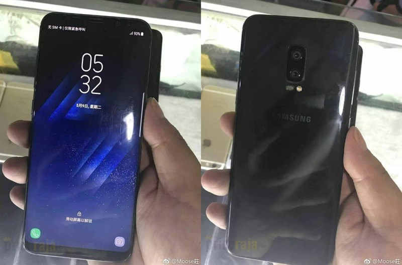 Galaxy Note 8 camera kép, vân tay siêu âm bất ngờ xuất hiện trên tay người dùng
