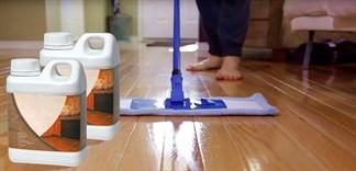 Sai lầm khi dùng nước lau sàn nhà diệt khuẩn