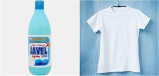 Lưu ý cần nhớ khi dùng thuốc tẩy quần áo Javen