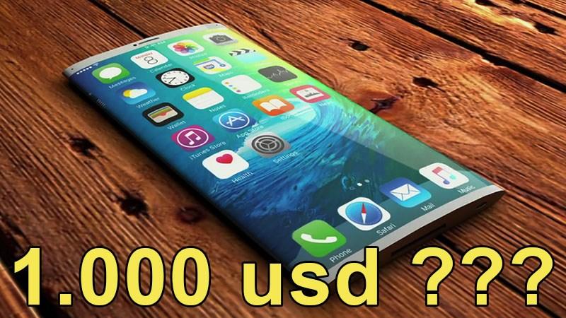 iPhone 8 concept giá 1.000 usd