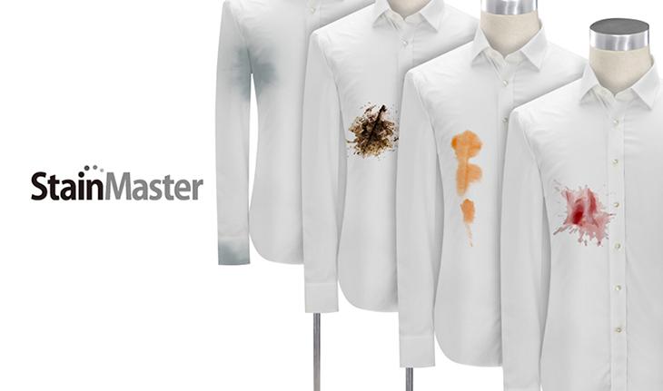 Công nghệ giặt nước nóng StainMaster+ giúp đánh bay mọi vết bẩn cứng đầu