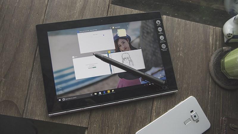 Đánh giá chi tiết Lenovo Yoga Book