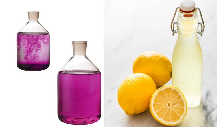 Sự kết hợp hiệu quả của chanh và thuốc tím