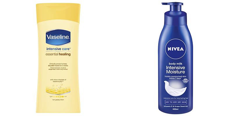 Sữa dưỡng thể Vaseline hay Nivea tốt hơn?