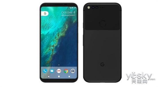 Google Pixel 2 lộ ảnh render đẹp mắt với camera kép, viền cạnh siêu mỏng