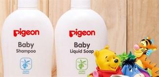 Các loại sữa tắm em bé Pigeon