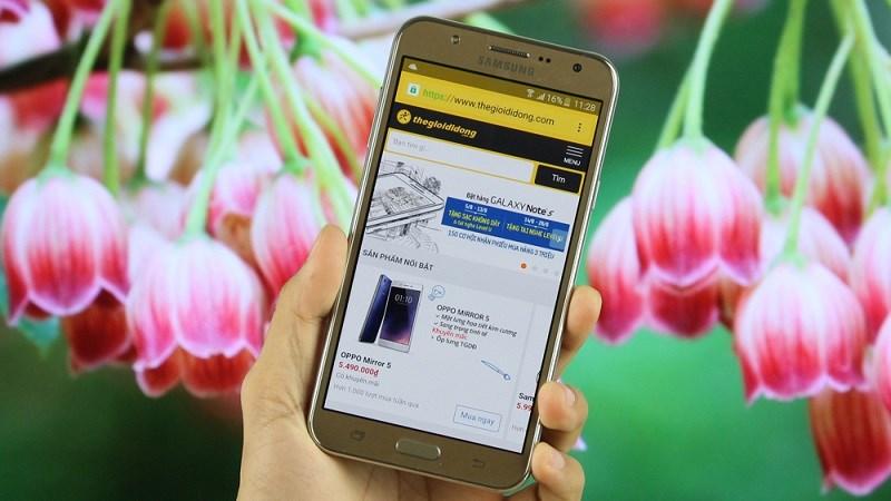 Samsung Galaxy J7 2015 sẽ được cập nhật Android 7 0 Nougat