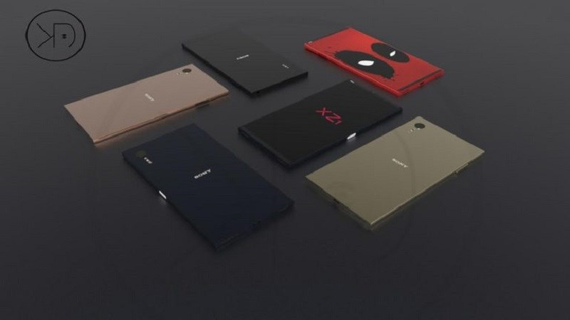 Xuất hiện concept của Sony Xperia XZ1 với ngoại hình bóng loáng