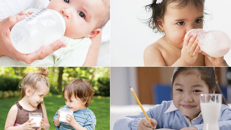 Sữa tốt cho bé là sữa hợp với độ tuổi, nhu cầu phát triển