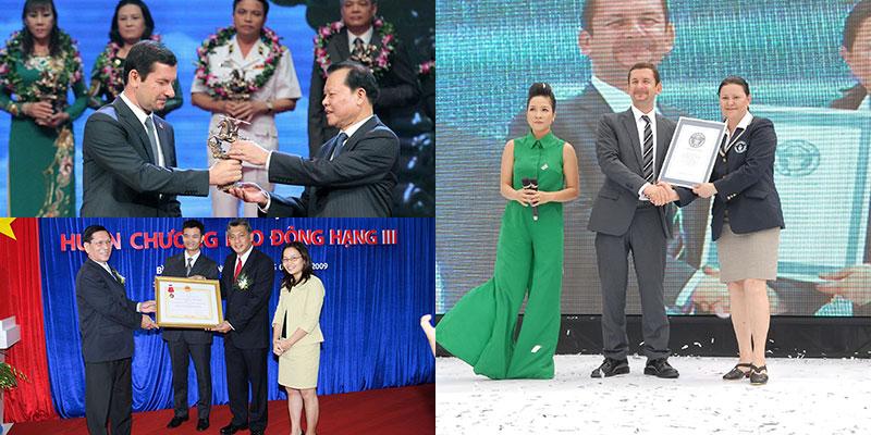 Những danh hiệu mà P & G Việt Nam đã đạt được