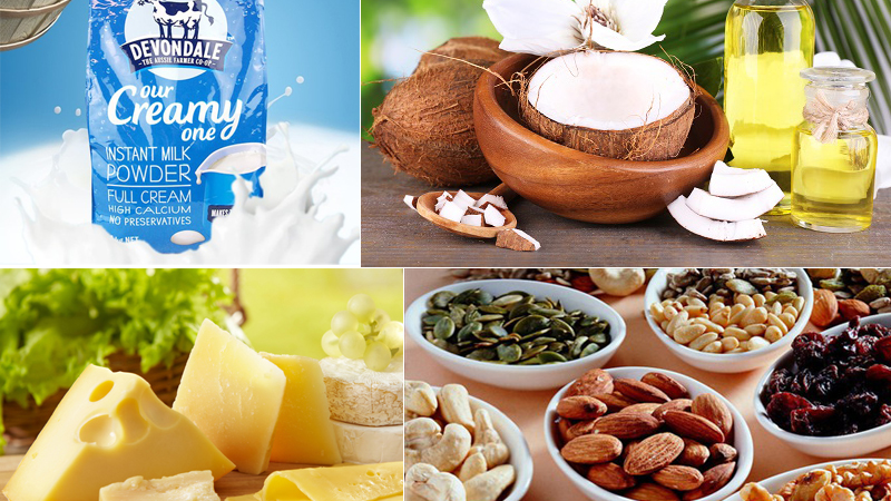 Bổ sung thực phẩm giàu chất béo lành mạnh giúp bé tăng cân nhanh