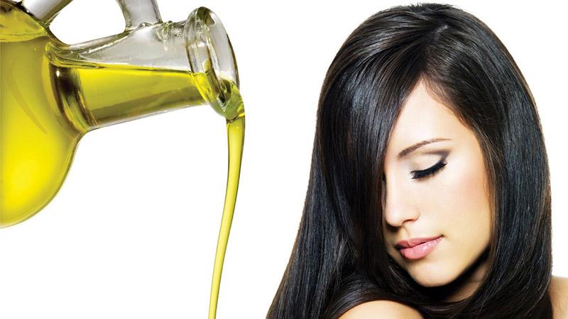 Công dụng của dầu oliu đối với tóc
