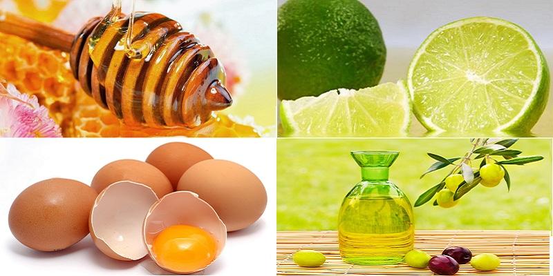 Trị rụng tóc bằng dầu oliu kết hợp với trứng gà