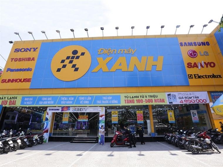 Siêu thị điện máy xanh tại Số 597 Hà Huy Giáp, KP.03, P. Thạnh Xuân, Q.12, TP.HCM (Đối diện trường CĐ Điện Lực)