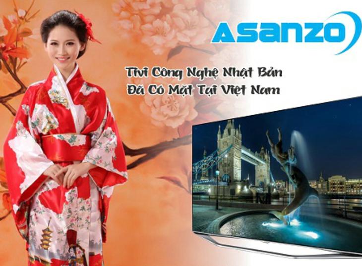 Tivi Asanzo là của nước nào?